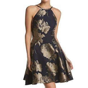 Xscape Women's Short Fit and Flair Party Dress, Na